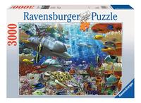 Ravensburger puzzel Onderwaterleven-Vooraanzicht