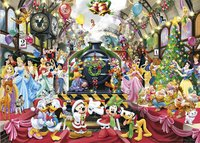 Ravensburger Puzzel Disney Kerstmis op station-Vooraanzicht