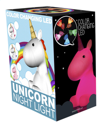 Nachtlampje Unicorn wit