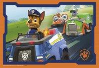 Ravensburger puzzel 2-in-1 PAW Patrol in actie-Vooraanzicht