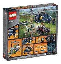 LEGO Jurassic World 75928 Helikopterachtervolging van Blue-Achteraanzicht