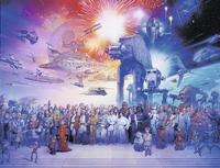 Ravensburger puzzle Disney Star Wars Universum-Vooraanzicht