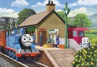 Ravensburger puzzel 2-in-1 Thomas & Friends Thomas de locomotief-Vooraanzicht