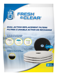 Cat It Filtre au charbon Fresh & Clear - 3 pièces