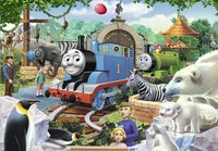 Ravensburger puzzel 2-in-1 Thomas & Friends Dierenpark-Vooraanzicht