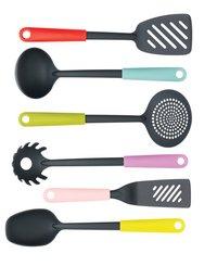 Brabantia Set d'ustensiles de cuisine 6 pièces Tasty Colours