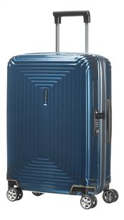 Samsonite Harde reistrolley Neopulse Spinner metallic blue 55 cm-Vooraanzicht