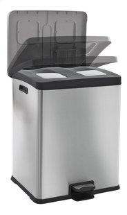 Eko Pedaalemmer Recycle Rejoice inox/zwart 60 l-Artikeldetail