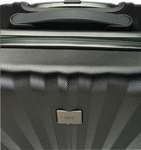 Princess Traveller harde reistrolley Nice met Powerbank zwart 55 cm-Bovenaanzicht
