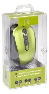 Souris sans fil rechargeable vert/noir-Côté gauche