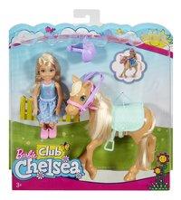 Barbie speelset Club Chelsea: Chelsea & Pony-Vooraanzicht