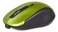 Souris sans fil rechargeable vert/noir-Avant
