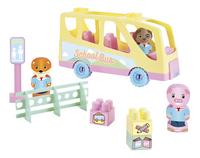 Abrick Tweepop Schoolbus-commercieel beeld