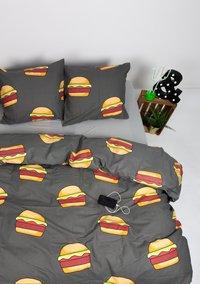 Gaaf Dekbedovertrek Hamburger katoen-Afbeelding 2