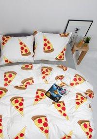 Gaaf Dekbedovertrek Pizza katoen-Afbeelding 2