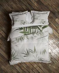 Heckett & Lane Housse de couette Satu Forest Green coton 200 x 220 cm-Image 2