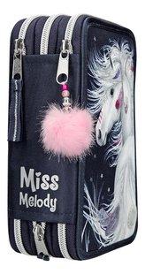 Gevulde pennenzak Miss Melody Friends met led blauw-Achteraanzicht