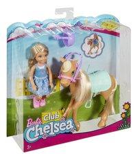 Barbie speelset Club Chelsea: Chelsea & Pony-Linkerzijde