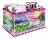 Ravensburger Puzzle 3D Girly Girl Coffre de rangement avec licorne-Avant