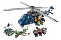 LEGO Jurassic World 75928 Helikopterachtervolging van Blue-Vooraanzicht