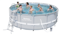 Bestway piscine Power Steel Frame diamètre 4,27 m