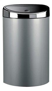 Brabantia poubelle Touch Bin 40 l gris métallique