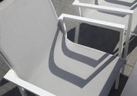 Tuinstoel Forios lichtgrijs/wit-Artikeldetail