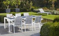 Chaise de jardin Forios gris clair/blanc-Image 3