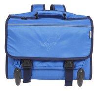 Kangourou cartable à roulettes Blue 44 cm-Avant
