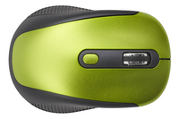 Souris sans fil rechargeable vert/noir-Vue du haut