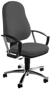 Topstar Chaise de bureau Action Point anthracite
