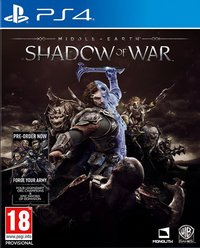 PS4 Middle-Earth Shadow of War ENG/FR