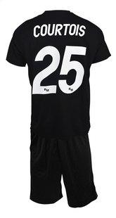 Voetbaloutfit Real Madrid Thibaut Courtois zwart metaal maat 116-Achteraanzicht