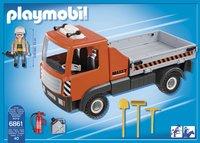 Playmobil City Action 6861 Camion de chantier-Arrière