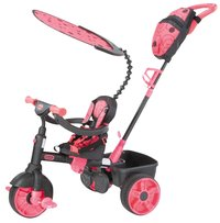 Little Tikes driewieler 4-in-1 zwart/roze