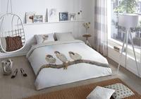Good Morning Housse de couette Sparrow flanelle 200 x 220 cm-commercieel beeld