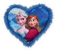 Coussin Disney La Reine des Neiges coeur bleu