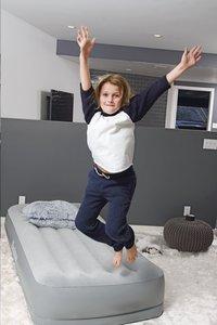 Bestway zelfopblazende luchtmatras voor 1 persoon Tritech Airbed Twin Gray-Afbeelding 7