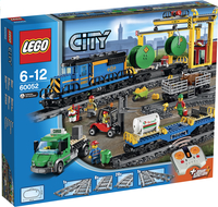 LEGO City 60052 Le train de marchandises-Avant