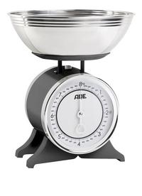 ADE Balance de cuisine mécanique Anna noir/inox-Côté gauche