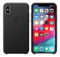 Apple coque en cuir pour iPhone Xs noir-Détail de l'article