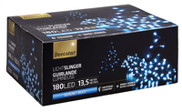 Guirlande lumineuse LED L 13,5 m bleu