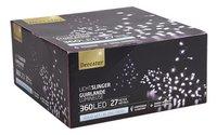 Guirlande lumineuse LED L 27 m blanc froid