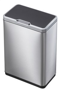 Eko Poubelle automatique Recycle Mirage Sensor inox/noir 40 l