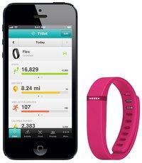 Fitbit Flex activiteitsmeter roze-Afbeelding 1