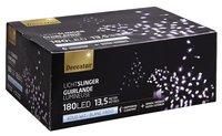 Guirlande lumineuse LED L 13,5 m blanc froid