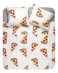 Gaaf Dekbedovertrek Pizza katoen-Vooraanzicht
