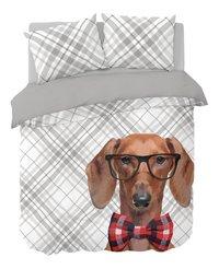 Nightlife Dekbedovertrek Dog Bowtie katoen/polyester-Vooraanzicht