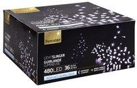 Ledverlichting slinger L 36 m koud wit