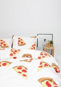 Gaaf Dekbedovertrek Pizza katoen-Afbeelding 1